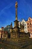 Old architecture, Pilsen, Czech Republic Stock Photos