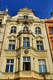 Old architecture, Pilsen, Czech Republic Royalty Free Stock Photos