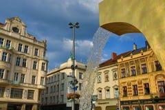 Old architecture, Pilsen, Czech Republic Royalty Free Stock Images
