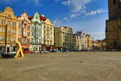 Old architecture, Pilsen, Czech Republic Royalty Free Stock Photography