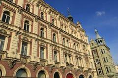 Old architecture, Pilsen, Czech Republic Stock Images