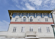 Old architecture in Piran, Slovenia Stock Images