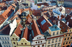 Old architecture  in Prague old town square Royalty Free Stock Images