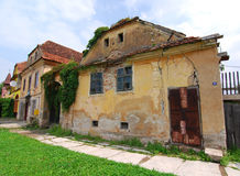 Old architecture in Prejmer / Transylvania royalty free stock image