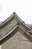 Old architecture roof details. Chinese old architecture roof details Stock Photography