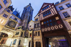 Old architecture of Rouen Royalty Free Stock Image
