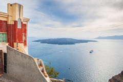 Old architecture on Santorini island, Greece Stock Images
