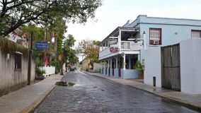 Old architecture St. Augustine FL stock video footage