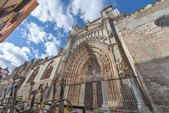 Old architecture of Toledo Stock Photography
