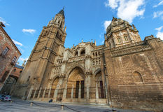 Old architecture of Toledo Stock Image