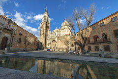 Old architecture of Toledo Stock Images