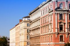 Old architecture in Vienna Royalty Free Stock Photography
