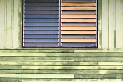 Old architecture of wooden house Royalty Free Stock Photos