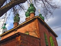 Old architecture of Yaroslavl Royalty Free Stock Photo