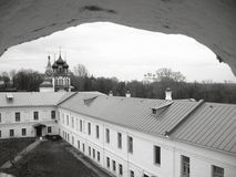 Old architecture of Yaroslavl Royalty Free Stock Images