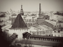 Old architecture of Yaroslavl Stock Photo