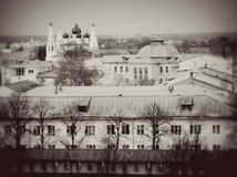Old architecture of Yaroslavl Stock Photos