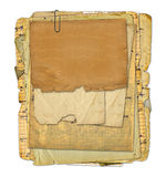 Old archive with letters, photos Royalty Free Stock Photography