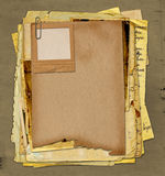 Old Archive With Letters, Photos Royalty Free Stock Photo