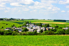 Old ardennes village royalty free stock images