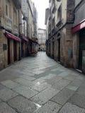 The old area of Orense. Galicia, Spain royalty free stock photos