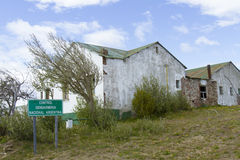 Old Argentina border outpost Stock Images