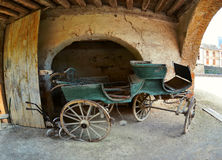 Old aristocrat carriage Royalty Free Stock Photo