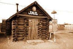 Old arizona jail Stock Photos