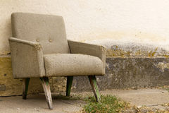 Old armchair Stock Image