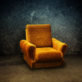 Old armchair Stock Photo