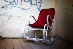 Old armchair Royalty Free Stock Image