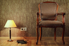 Old Armchair Royalty Free Stock Images