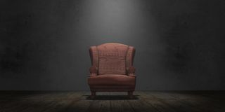 Old armchair Royalty Free Stock Photo