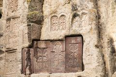 Old Armenian engravings royalty free stock photography