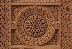 Old Armenian tombstone stock photo