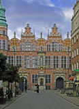 Old Armory in Gdansk. Renaissance armory in Dutch style built around 1605 in Gdansk, Poland Stock Photography