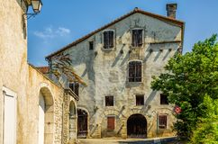 The old armoury in Sauveterre-de-Bearn Royalty Free Stock Images