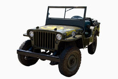 Old Army Car Royalty Free Stock Images