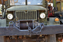 Old army car Stock Images