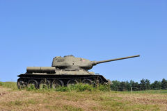 Old army tank Stock Images