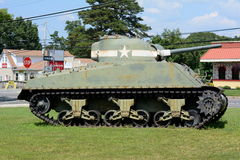 Old Army Tank Royalty Free Stock Photography