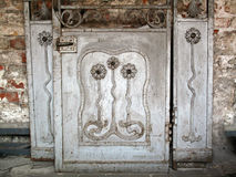 Old Art Nouveau Door. Royalty Free Stock Images