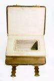An old art nouveau photo album Stock Photo