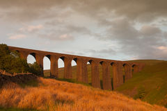 Old Arten Gill Viaduct in Yorkshire Dales National Park Royalty Free Stock Image