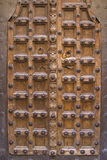 Old artfully crafted doorstep. While walking through the narrow streets of Malcesine you can discover so many artful detail Stock Photos