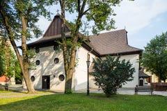 Old Articular Church In Kezmarok, Slovakia Royalty Free Stock Photos