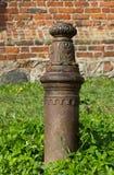 Old   artifact. Old artifact   in  Germany kenigsberg kaliningrad Royalty Free Stock Image