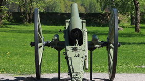 Old artillery cannon Stock Photography