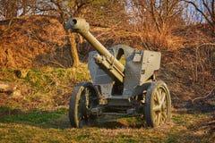 An Old Artillery Gun Stock Photos