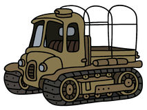 Old artillery tractor Stock Images